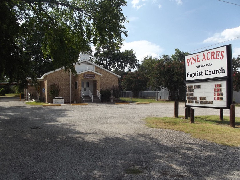 Pine Acres Missionary Baptist Church - Gilmer, TX » KJV Churches