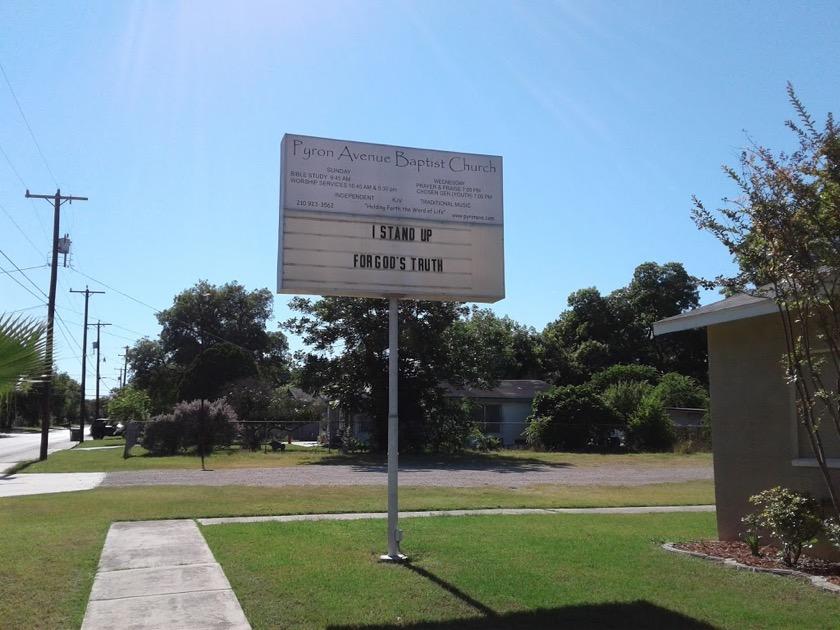 Pyron Avenue Baptist Church San Antonio Tx 187 Kjv Churches